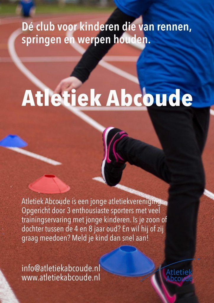 Poster Atletiek Abcoude seizoen 2018-2019