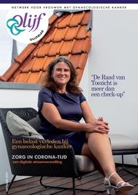 Cover Olijfblad 3 2020, portret Fabienne van Booma